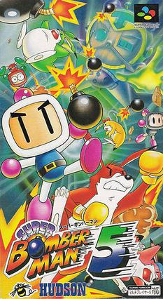 Picture of a game: Super Bomberman 5