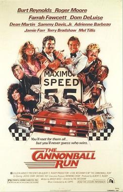 CannonBall Run posted. Uploaded to Wikipedia under Fair use, https://en.wikipedia.org/w/index.php?curid=11146898