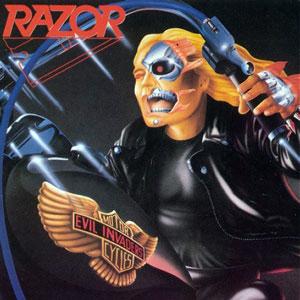 <i>Evil Invaders</i> 1985 studio album by Razor