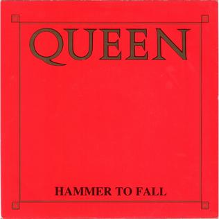 Hammer to Fall 1984 Queen single