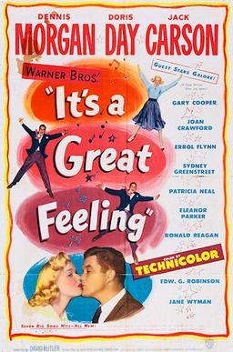 Image result for it's a great feeling movie poster