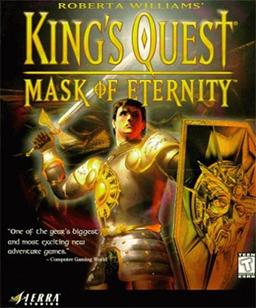 Ces jeux PC qui ont marqués votre enfance... King's_Quest_-_Mask_of_Eternity_Coverart