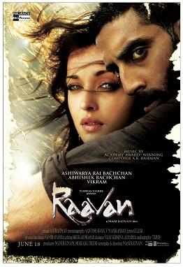 ravan,staring abhishek bachan Raavanposter2