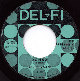 Donna Ritchie Valens Song Wikipedia