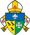 Small Coat of Arms of the Archdiocese of Southwark.jpg