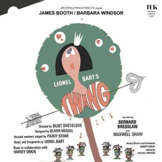 <i>Twang!!</i> 1965 musical by Lionel Bart