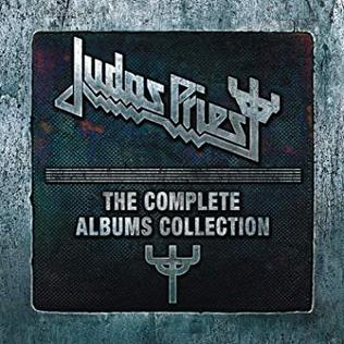 <i>The Complete Albums Collection</i> (Judas Priest box set) 2012 box set by Judas Priest