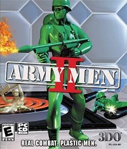 Army Men II Coverart pngArmy Men Png