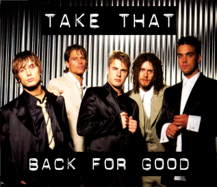 Take That — Back for Good (studio acapella)