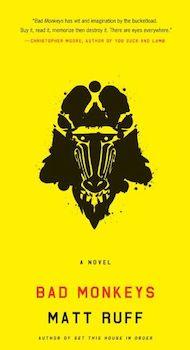 Bad Monkeys 2007 book cover