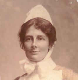 Edith Hudson British nurse and suffragette
