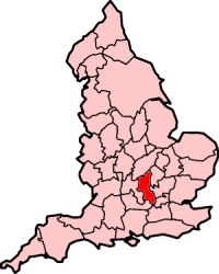 Ancient extent of Buckinghamshire