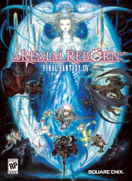Final Fantasy XIV, A Realm Reborn box cover