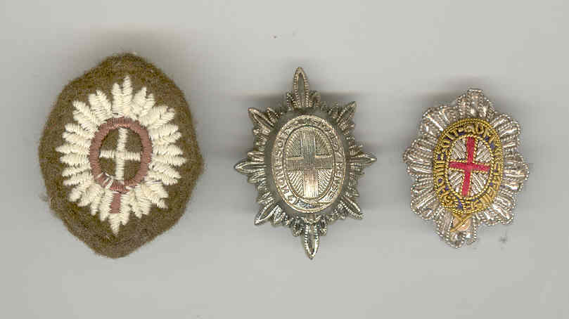 HAC officer's rank stars. Combat, Service and Mess Dress