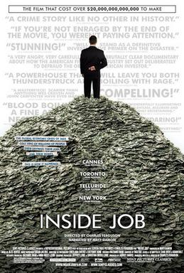 "okładka filmu ""Inside Job"" http://en.wikipedia.org/wiki/Inside_Job_%28film%29"