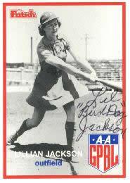 Lillian Jackson American baseball player