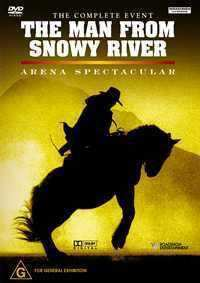 The Man from Snowy River Arena Spectacular — DVD image