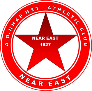 Near East B.C. basketball team