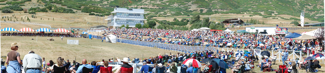 The Soldier Hollow Classic held annually in Midway, Utah drew 24,600 spectators in 2009