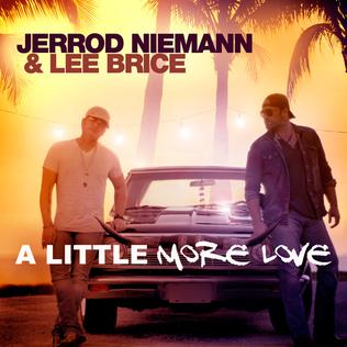 A Little More Love (Jerrod Niemann and Lee Brice song) 2016 song performed by Jerrod Niemann