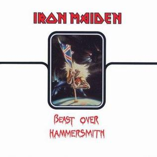 <i>Beast over Hammersmith</i> 2002 live album by Iron Maiden
