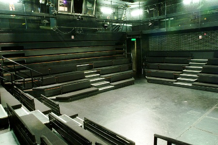 The Stage Of The Cockpit Theatre, London, Has Seating On Four Sides With A  Capacity Of 240.
