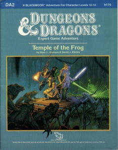 Cover of DA2 Temple of the Frog