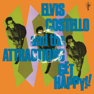 <i>Get Happy!!</i> (Elvis Costello album) 1980 studio album by Elvis Costello and the Attractions