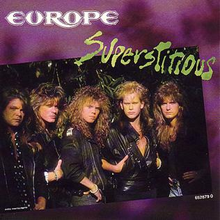 Superstitious (song) 1988 single by Europe