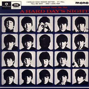 Extracts from the Film A Hard Day's Night artwork