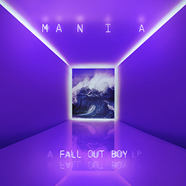 Fall Out Boy's album Mania is at 1st position