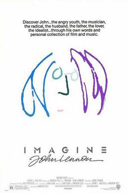 Film poster for Imagine: John Lennon - Copyrig...