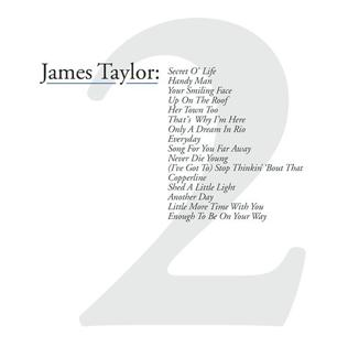 <i>Greatest Hits Volume 2</i> (James Taylor album) 2000 greatest hits album by James Taylor