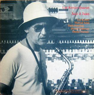 <i>Jazz à Juan</i> (album) 1977 live album by Lee Konitz