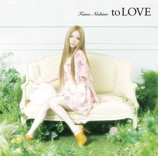 <i>To Love</i> (Kana Nishino album) album