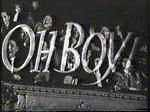 <i>Oh Boy!</i> (TV series) first teenage all-music show on British TV airing in 1958 and 1959