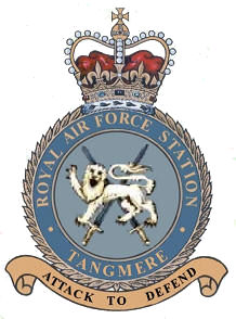 RAF Tangmere airport in the United Kingdom