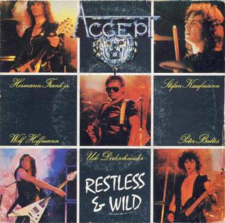 Restless and Wild (song) - Wikipedia