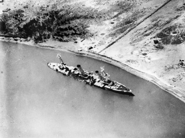 11/7/1915 Battle of the Rufiji Delta: doom of the Königsberg   World