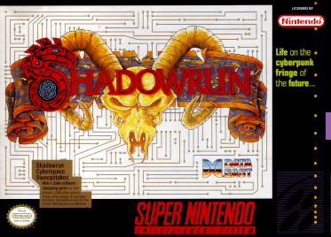 <i>Shadowrun</i> (1993 video game) 1993 video game