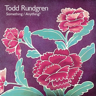 <i>Something/Anything?</i> 1972 studio album by Todd Rundgren