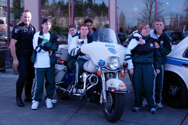 Washington Special Olympic Athletes and Redmon...