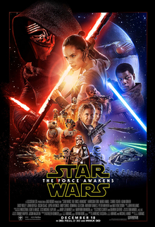 Star Wars The Force Awakens Theatrical Poster