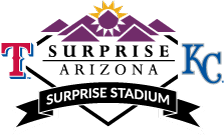 Surprise Stadium baseball field located at the Surprise Recreation Campus athletic facility in Surprise, Arizona USA
