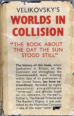 Worlds in Collision paperback book cover.