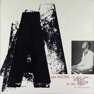 <i>A New Sound... A New Star...</i> 1956 studio album by Jimmy Smith