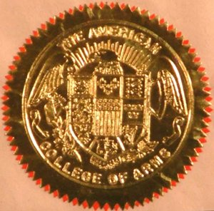 American College of Heraldry and Arms