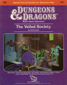 Cover of B6 The Veiled Society