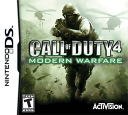 <i>Call of Duty 4: Modern Warfare</i> (Nintendo DS) video game for Nintendo DS