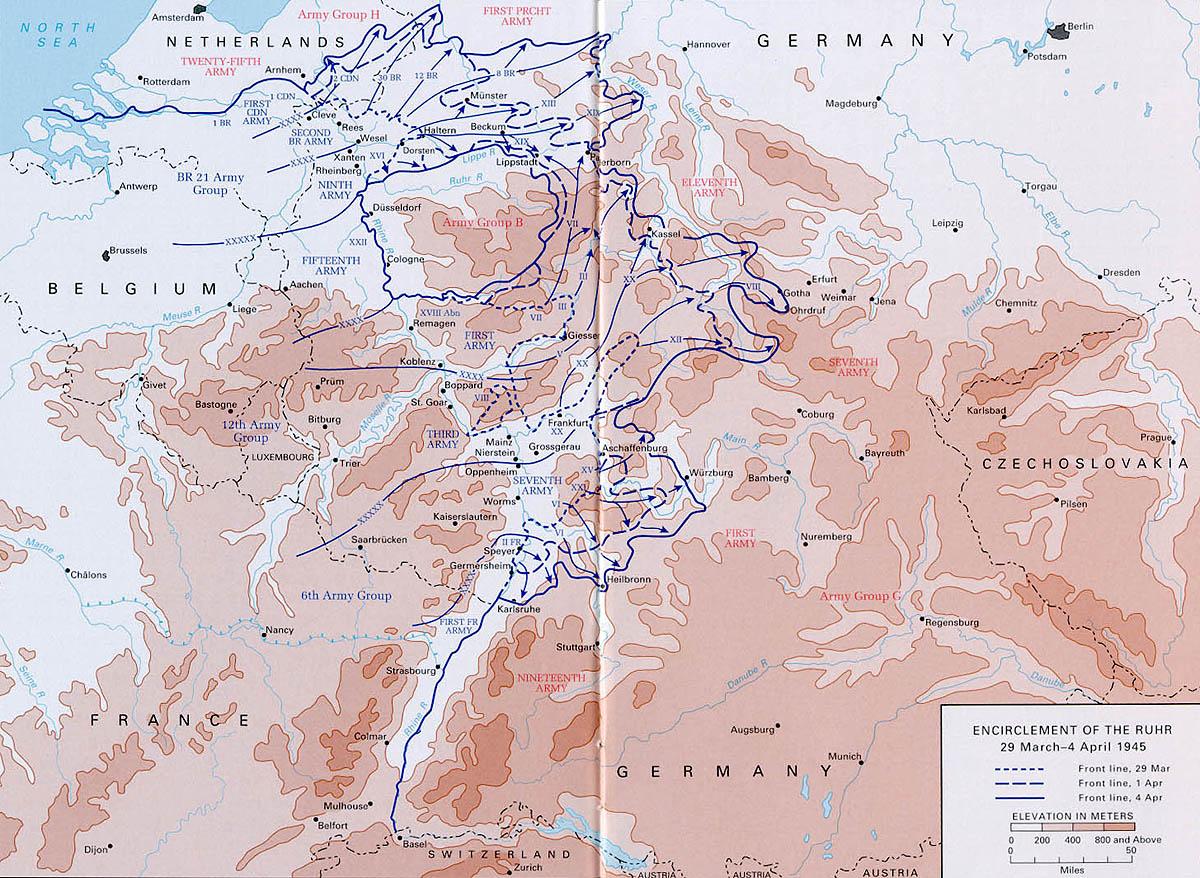 Battle Of Paderborn 1945 Wikipedia